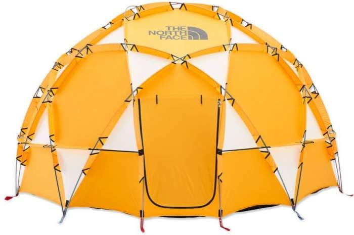 Tienda de campaña The North Face 2-Meter Dome para 8 personas.