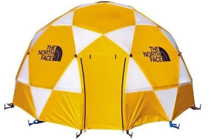 The North Face 2-Meter Dome - Tienda de campaña para 8 personas con mosca.