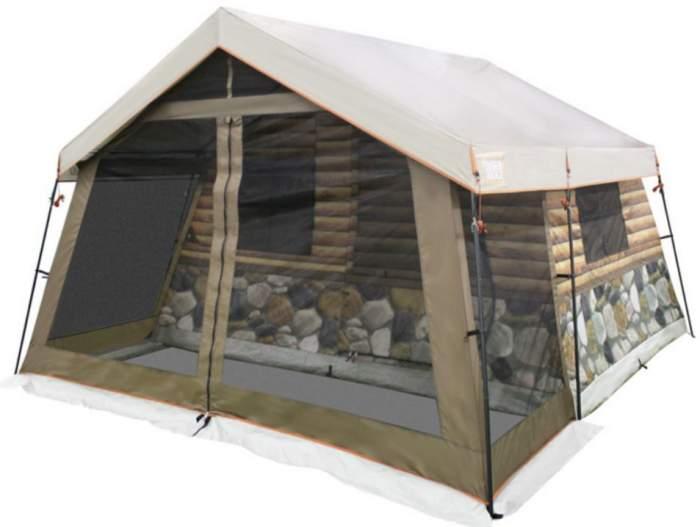 Tienda Timber Ridge Log Cabin Para 8 Personas.