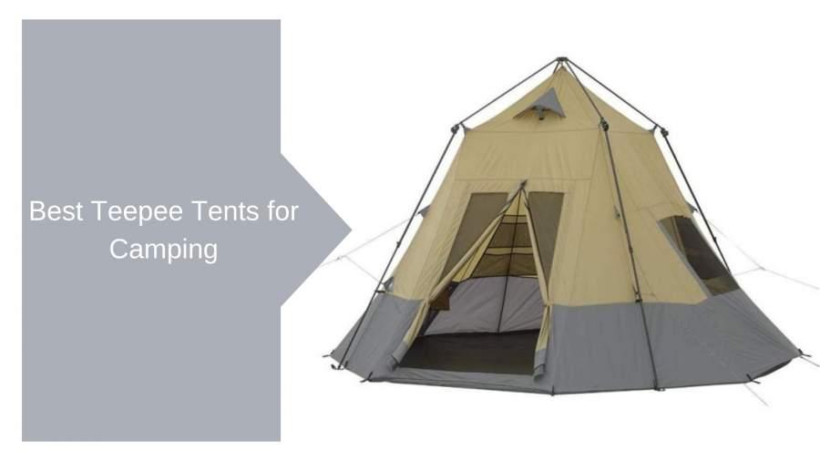 Las Mejores Casas De Campaña Tipi Para Acampar